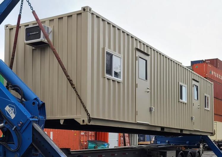 40ft shipping container office