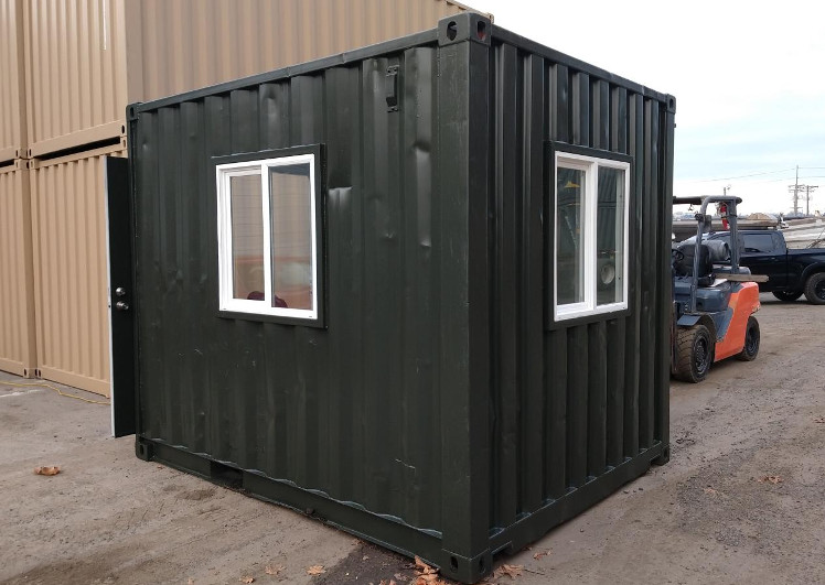 shipping container with windows for sale